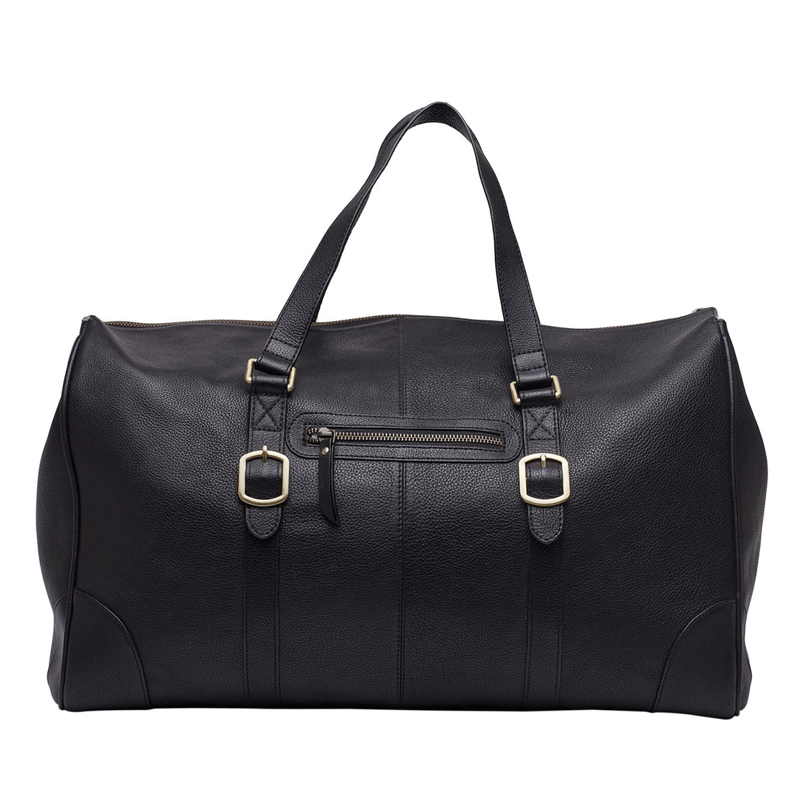 DL 0003 - TOHL PONTE MEN'S DUFFLE BAG - CHARCOAL BLACK