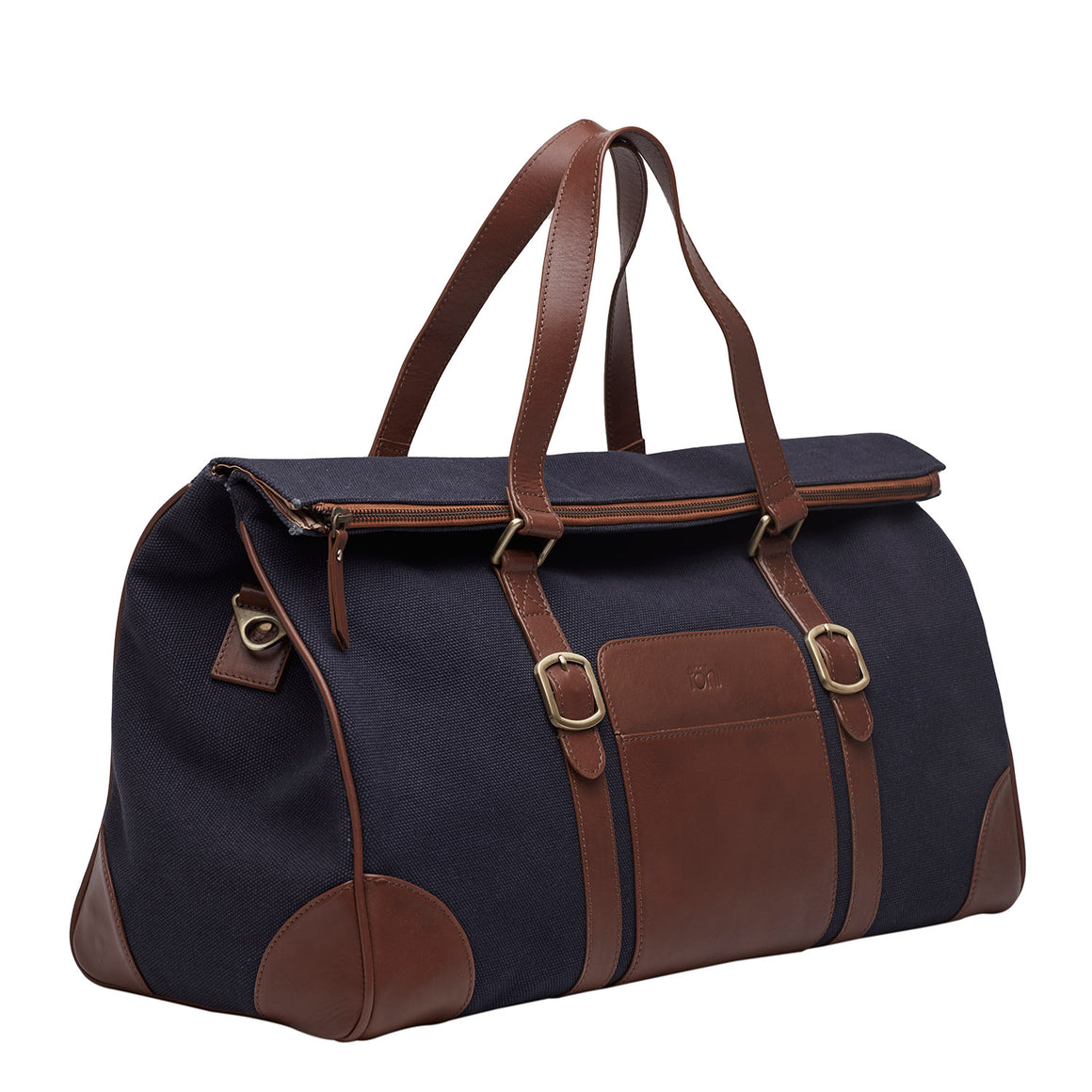 DL 0003 - TOHL PONTE MEN'S DUFFLE BAG - NAVY