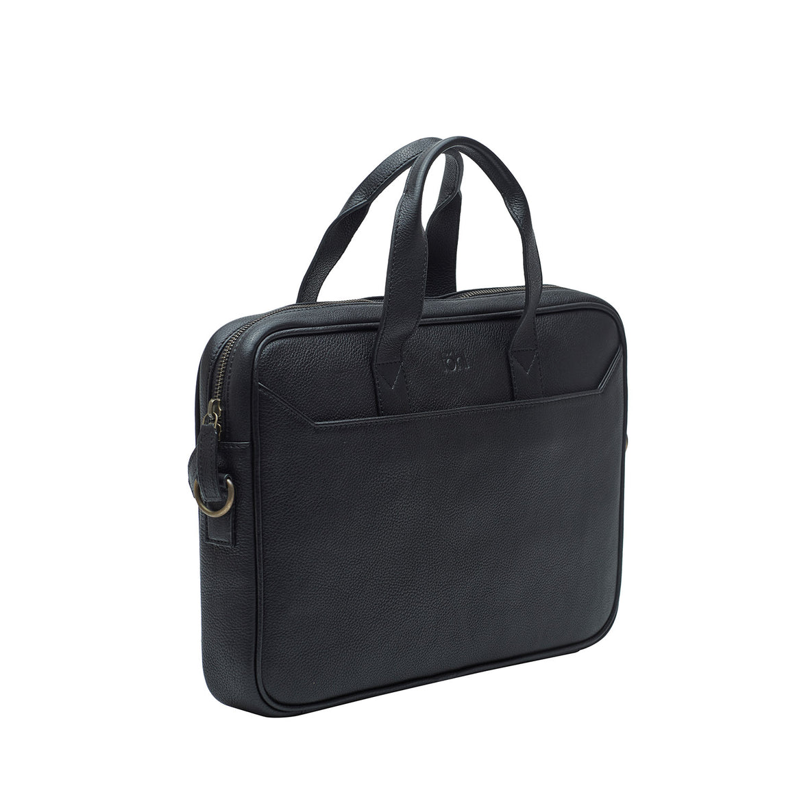 LB 0001 - TOHL VETTORE MEN'S LAPTOP BAG - CHARCOAL BLACK