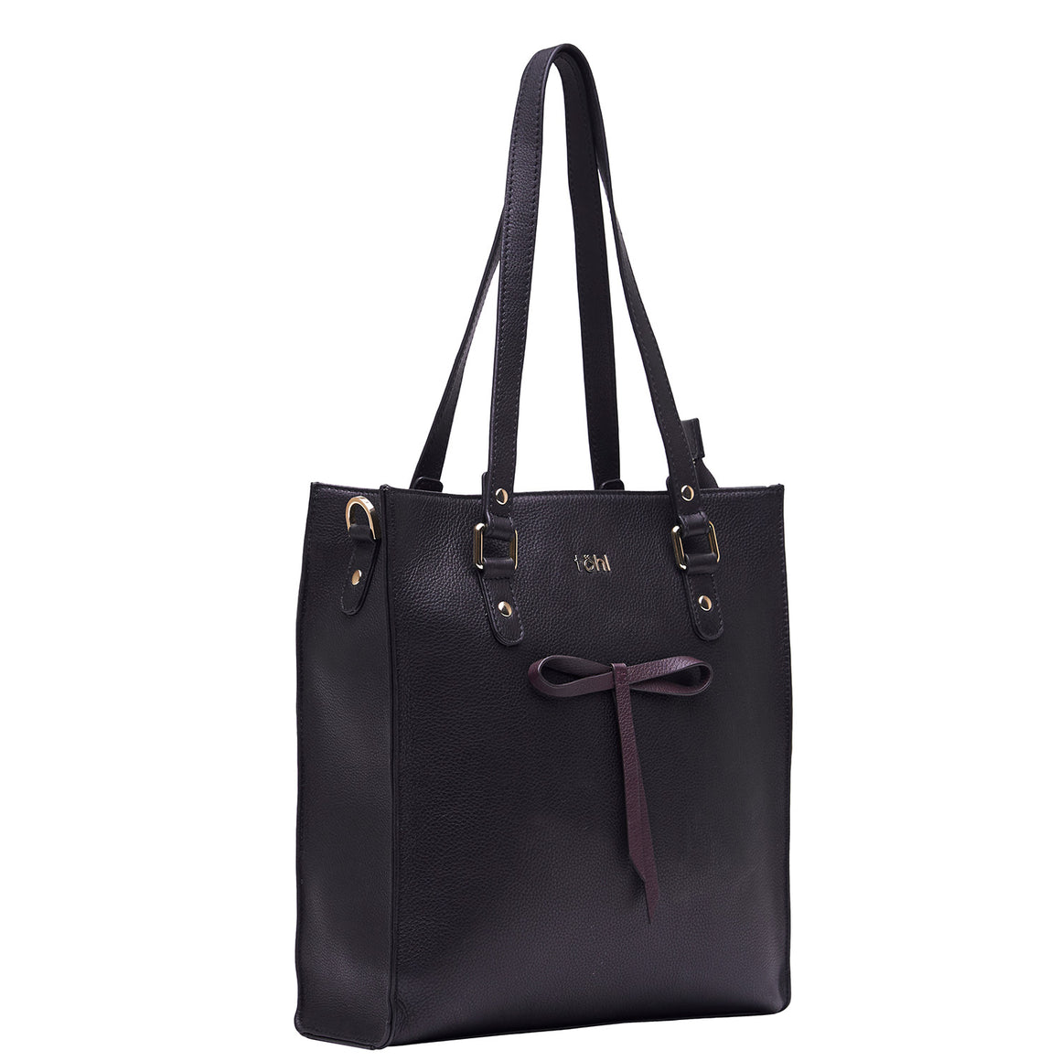 TT 0012 - TOHL DENNIS WOMEN'S TOTE BAG - BLACK