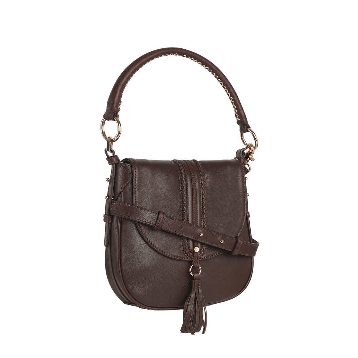 SB 0002 - TOHL GYPSY ROSE WOMEN'S HAND BAG - CHOCO