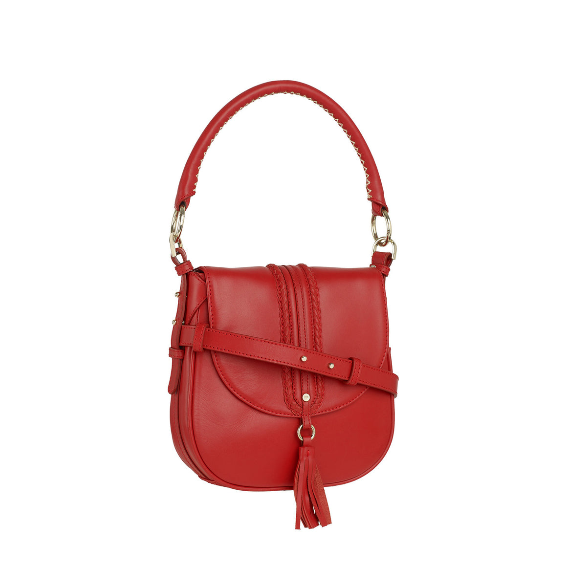SB 0002 - TOHL GYPSY ROSE WOMEN'S HAND BAG - SPICE RED