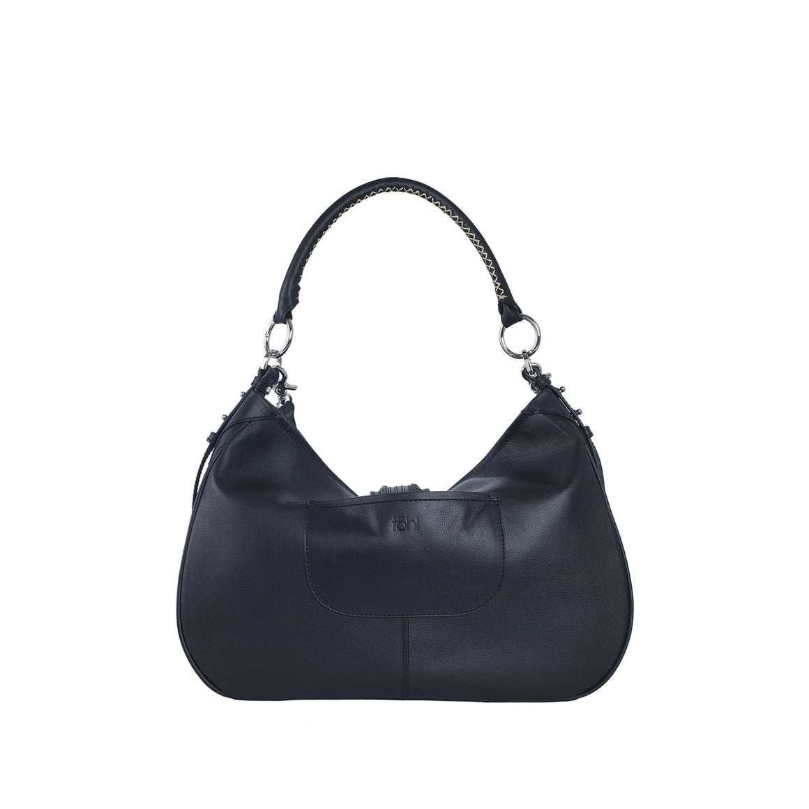 SB 0003 - TOHL EDIE WOMEN'S SHOULDER BAG -  CHARCOAL BLACK