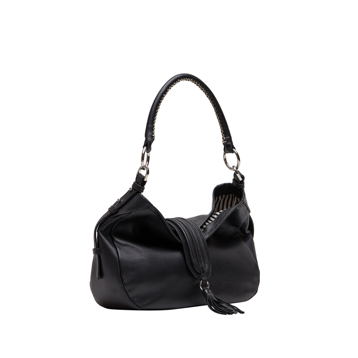 SB 0004 - TOHL BRIGITTE WOMEN'S SHOULDER BAG - CHARCOAL BLACK