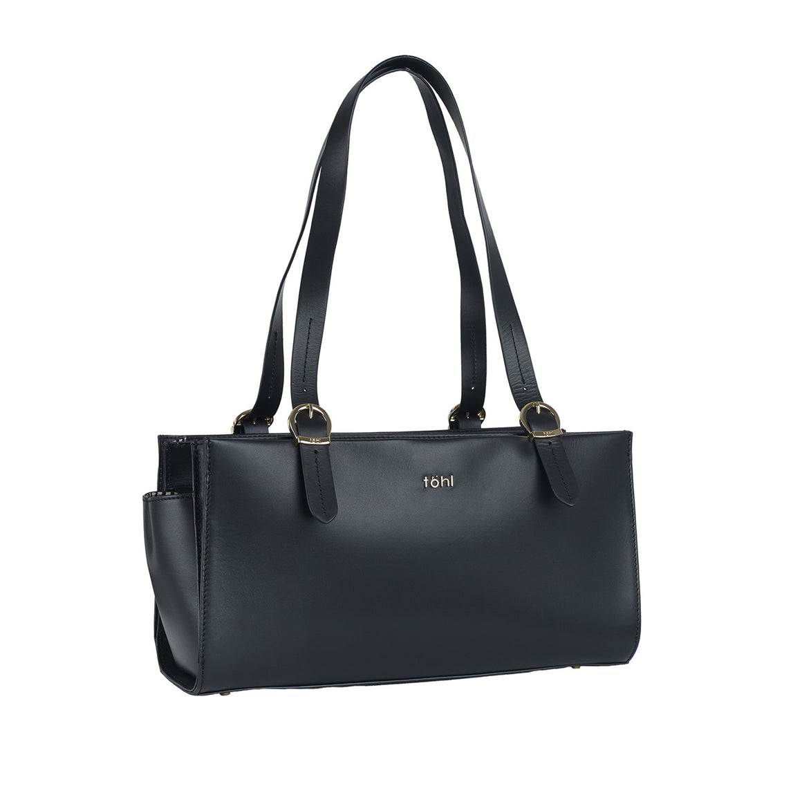 SB 0006 - TOHL CORTLAND WOMEN'S SHOULDER BAGUETTE - CHARCOAL BLACK