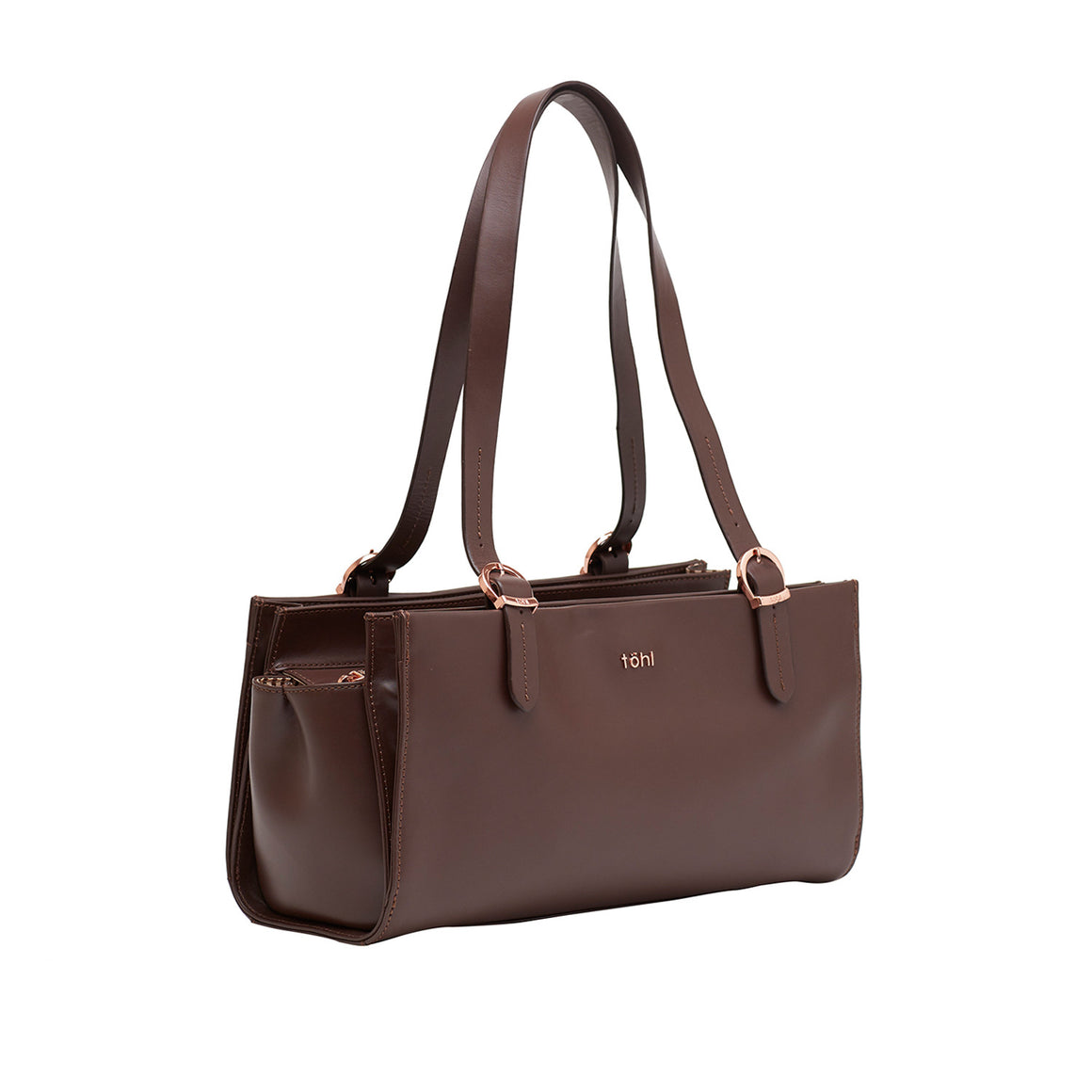 SB 0006 - TOHL CORTLAND WOMEN'S SHOULDER BAGUETTE - CHOCO