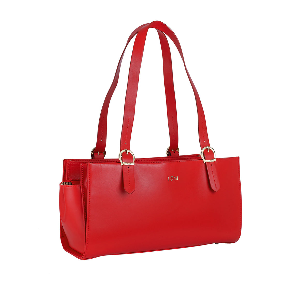 SB 0006 - TOHL CORTLAND WOMEN'S SHOULDER BAGUETTE - SPICE RED