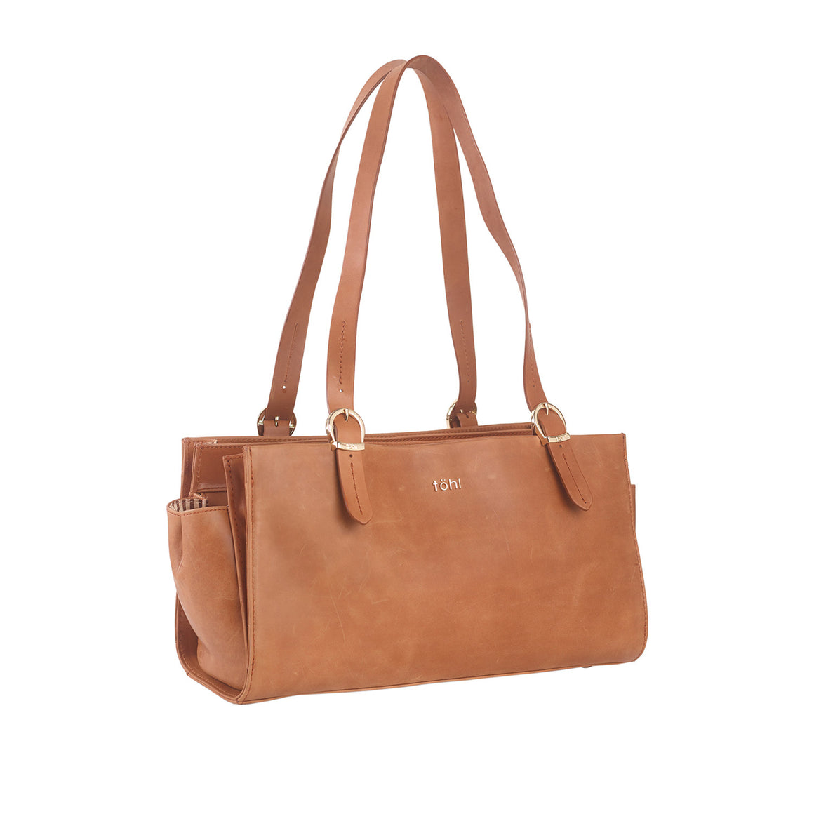 SB 0006 - TOHL CORTLAND WOMEN'S SHOULDER BAGUETTE - TAN