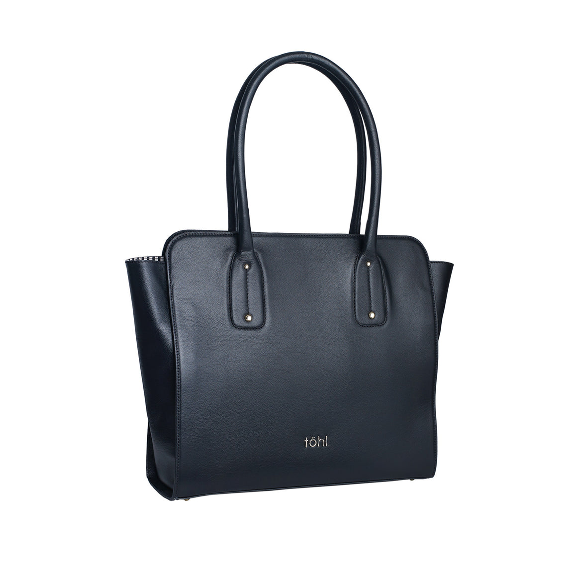 SB 0007- TOHL KURA WOMEN'S TOTE BAG - CHARCOAL BLACK