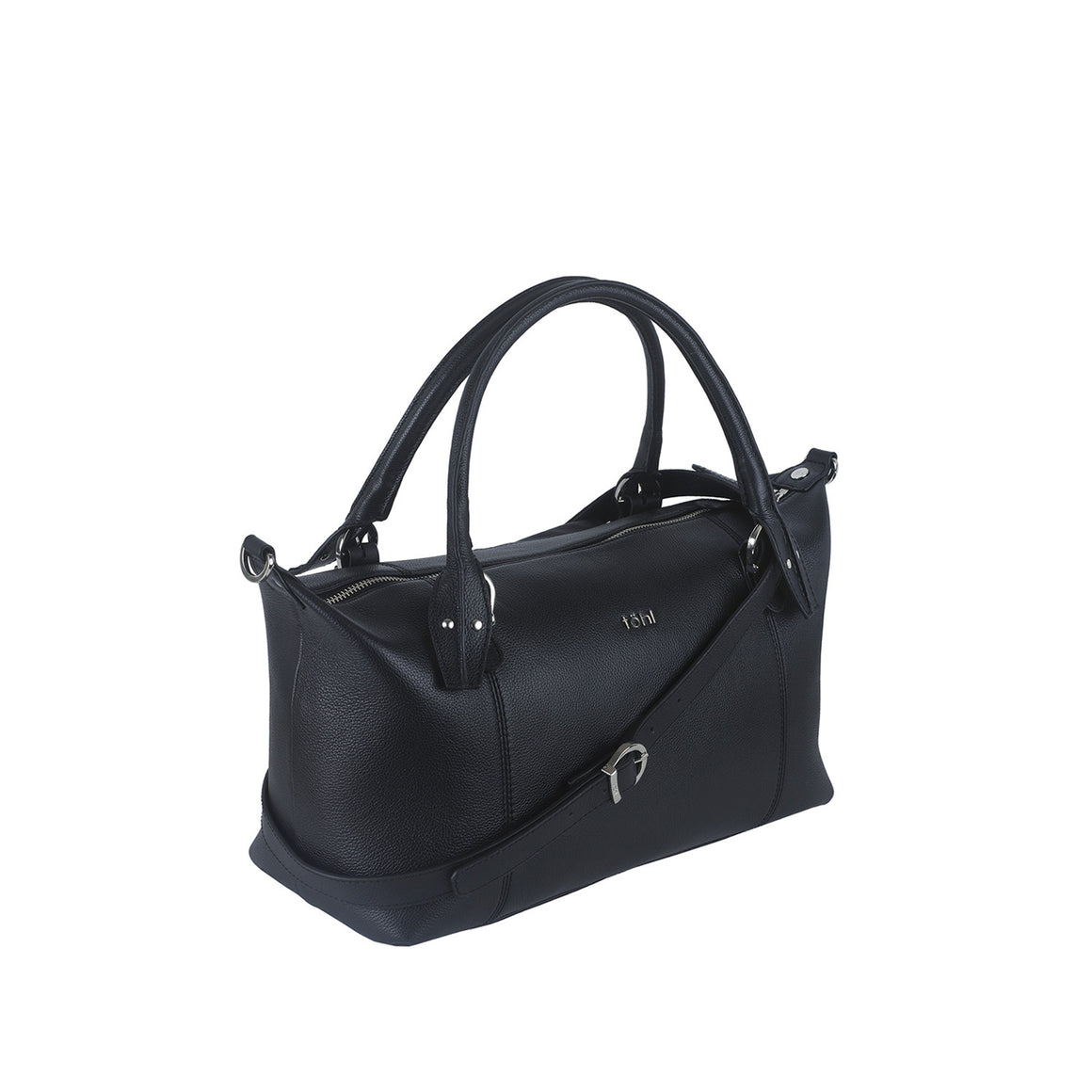 SB 0011 - TOHL MORRIS WOMEN'S TOTE BAG - CHARCOAL BLACK