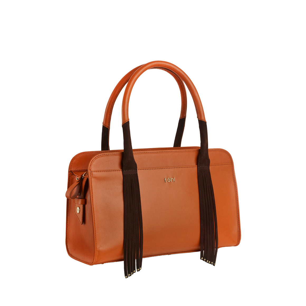 SB 0012 - TOHL TAMARA WOMEN'S DAY BAG - COGNAC
