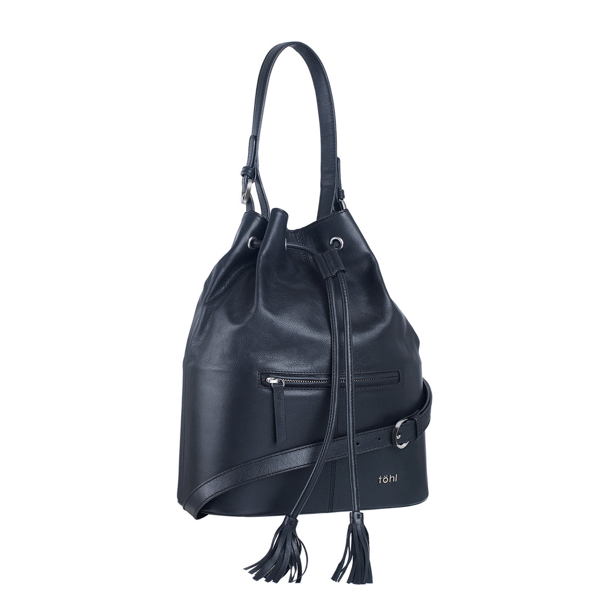 SB 0015 - TOHL NUSA WOMEN'S SHOULDER BAG - CHARCOAL BLACK
