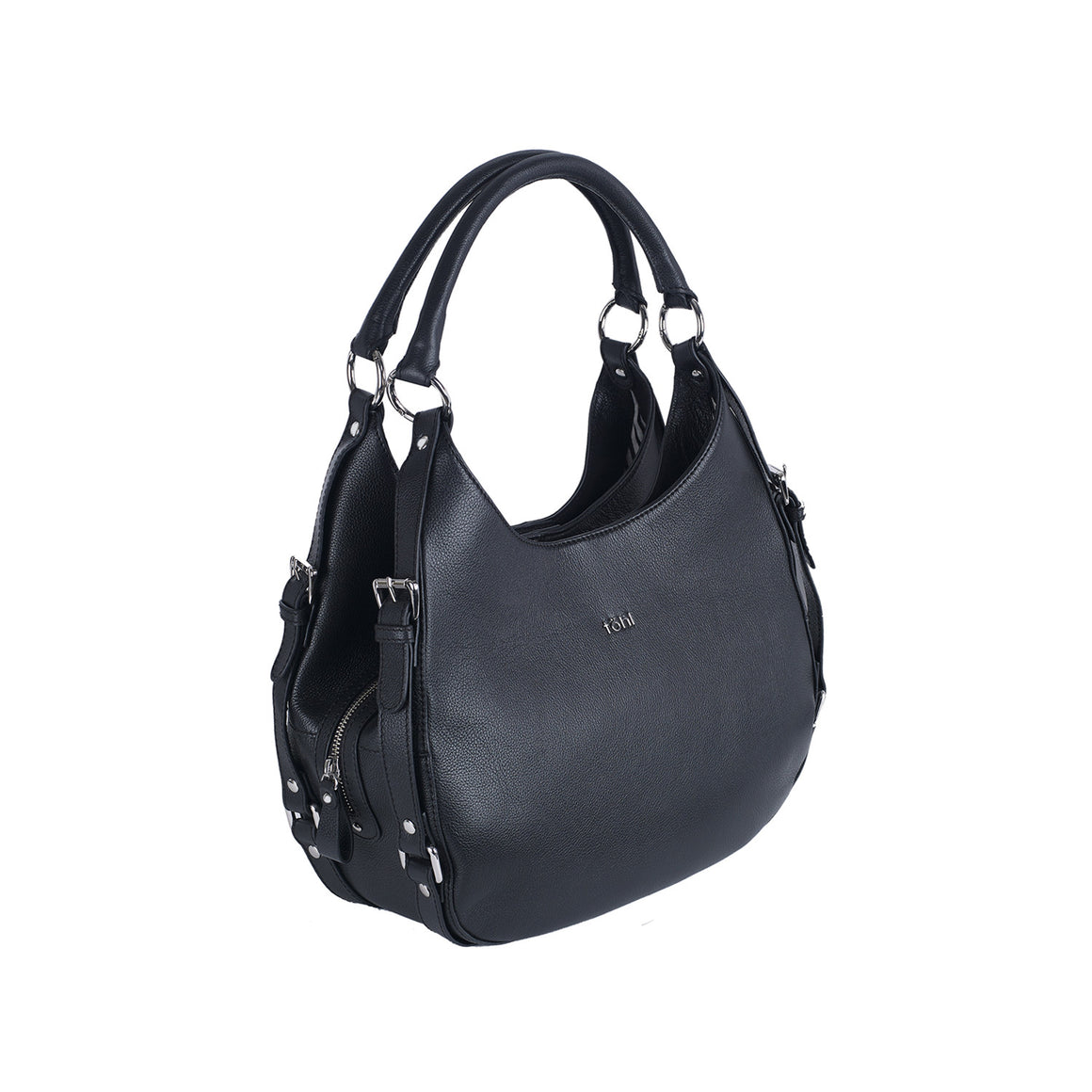 SB 0016 - TOHL KAIA WOMEN'S SHOULDER BAG - CHARCOAL BLACK