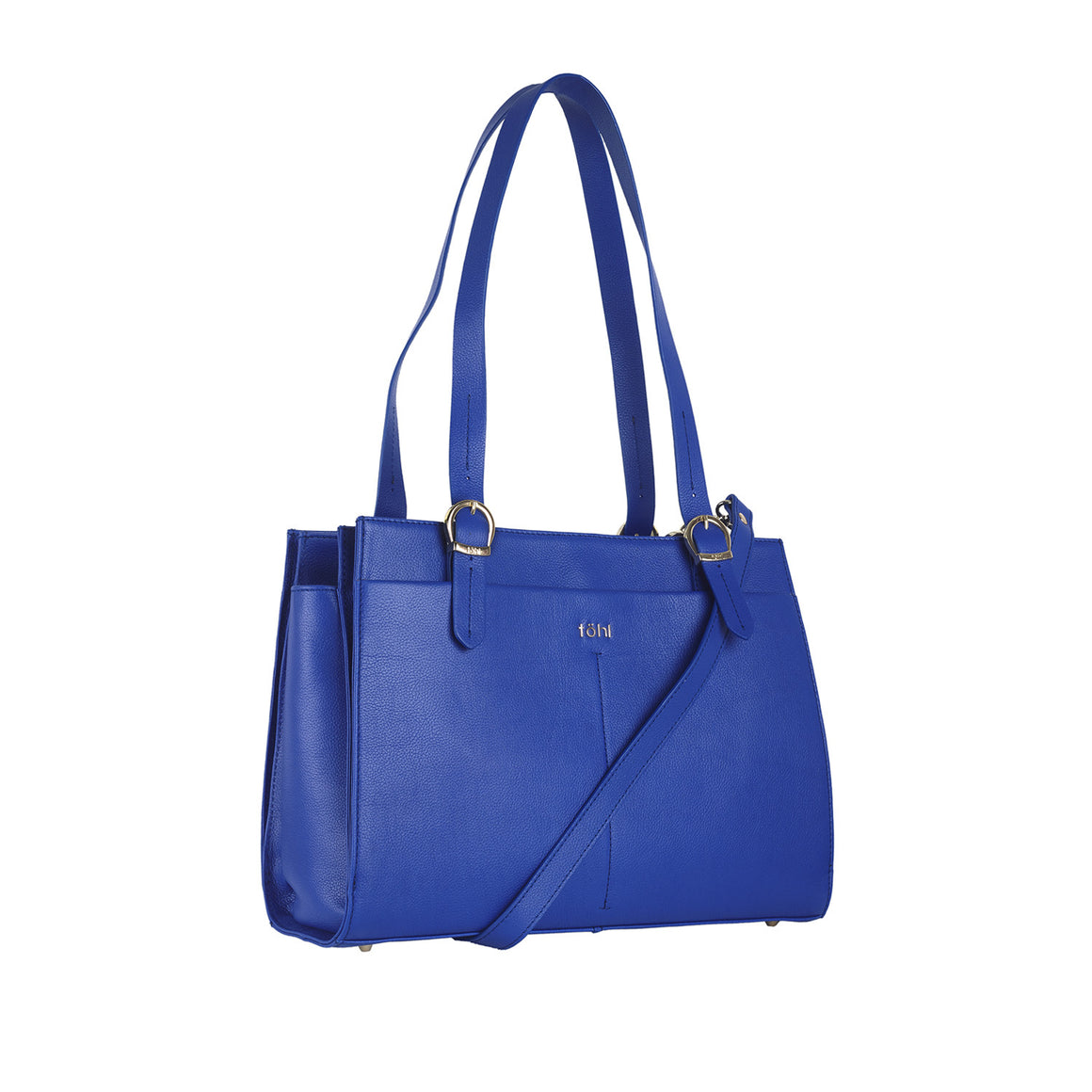 SB 0018 - TOHL TRINITY WOMEN'S DAY BAG - COBALT BLUE - FRONT VIEW