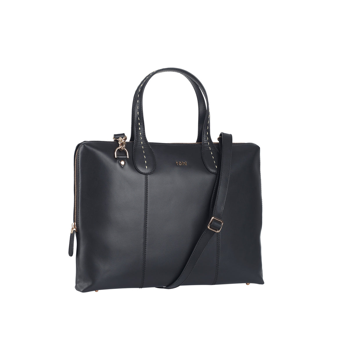SB 0019 - TOHL VESEY WOMEN'S SLIM VALISE - CHARCOAL BLACK