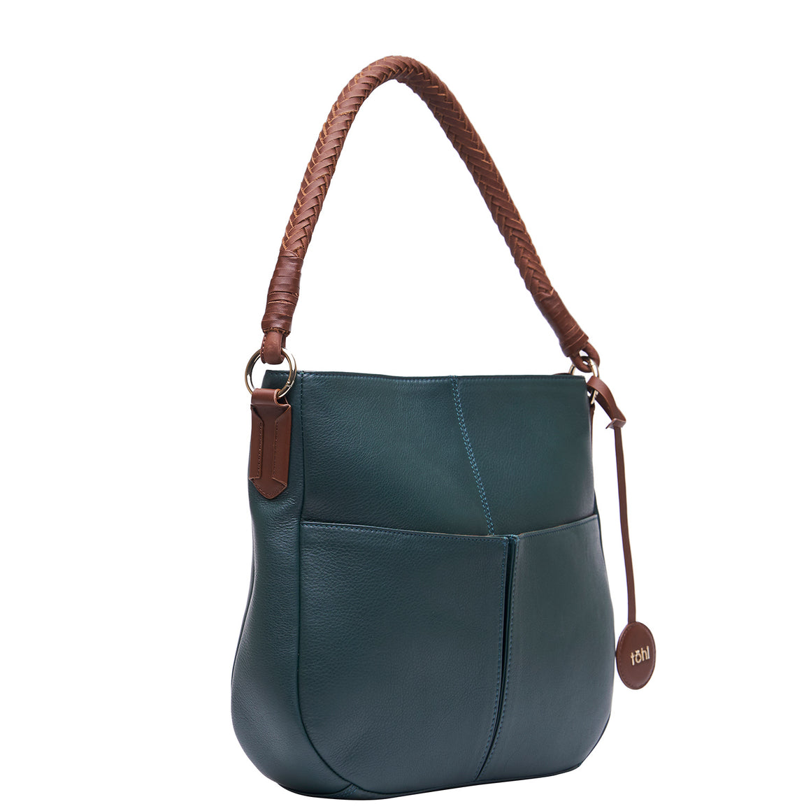 SB  0025 - TOHL SUTTON WOMEN'S SHOULDER BAG - FOREST GREEN