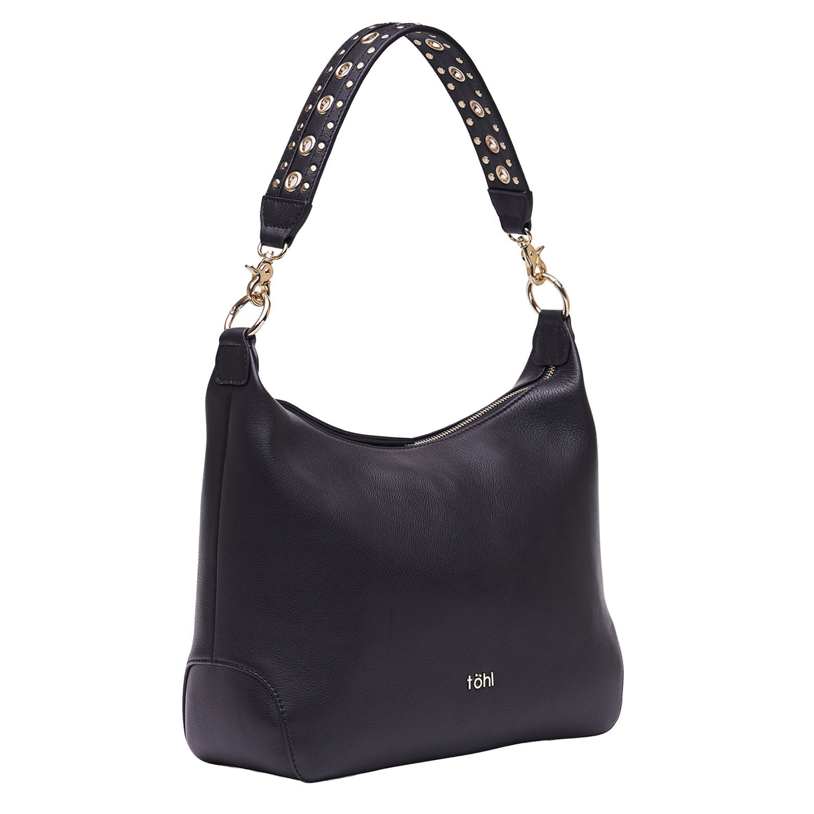 SB 0026 - TOHL FENCHURCH WOMEN'S SHOULDER BAG - CHARCOAL BLACK