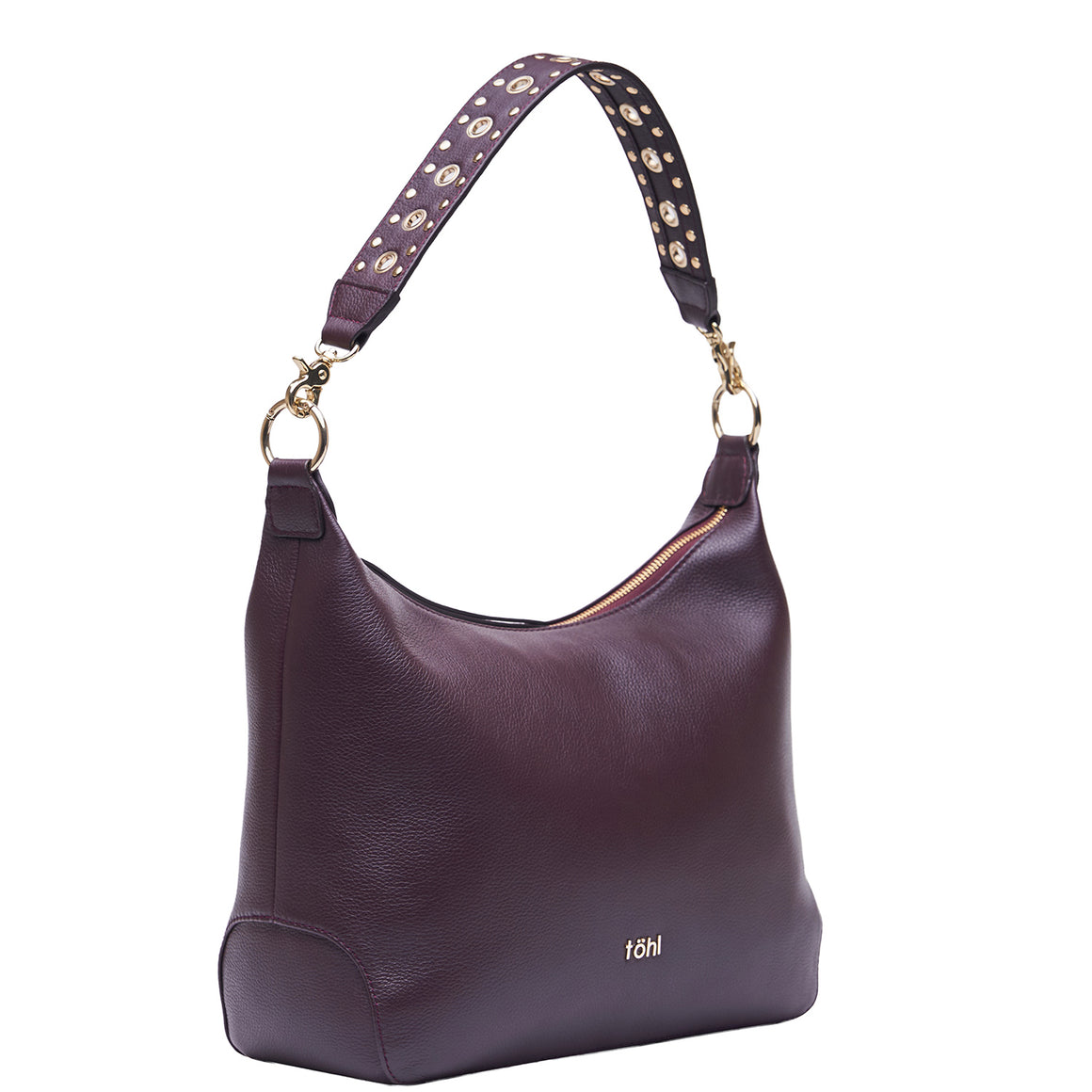 SB 0026 - TOHL FENCHURCH WOMEN'S SHOULDER BAG - PLUM