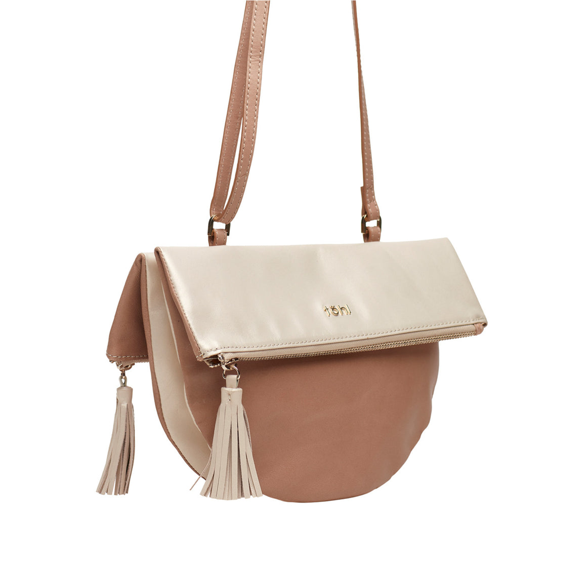 SG 0003 - TOHL BEL WOMEN'S SLING BAG - NUDE