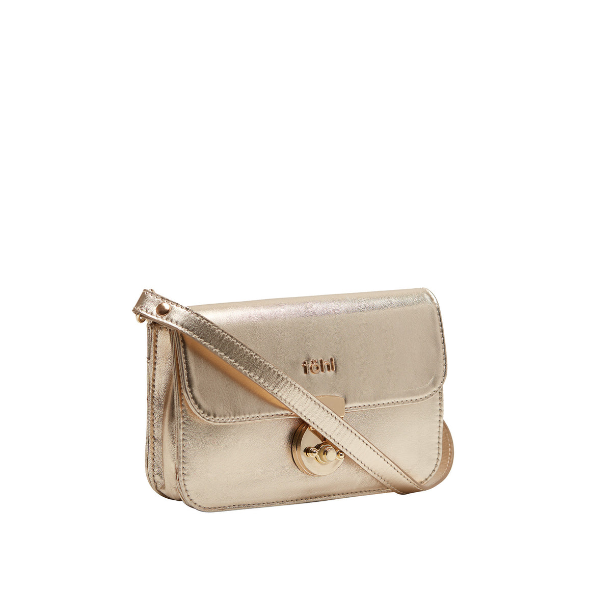 SG 0006 - TOHL ASTOR WOMEN'S FLAPOVER BAG - GOLD