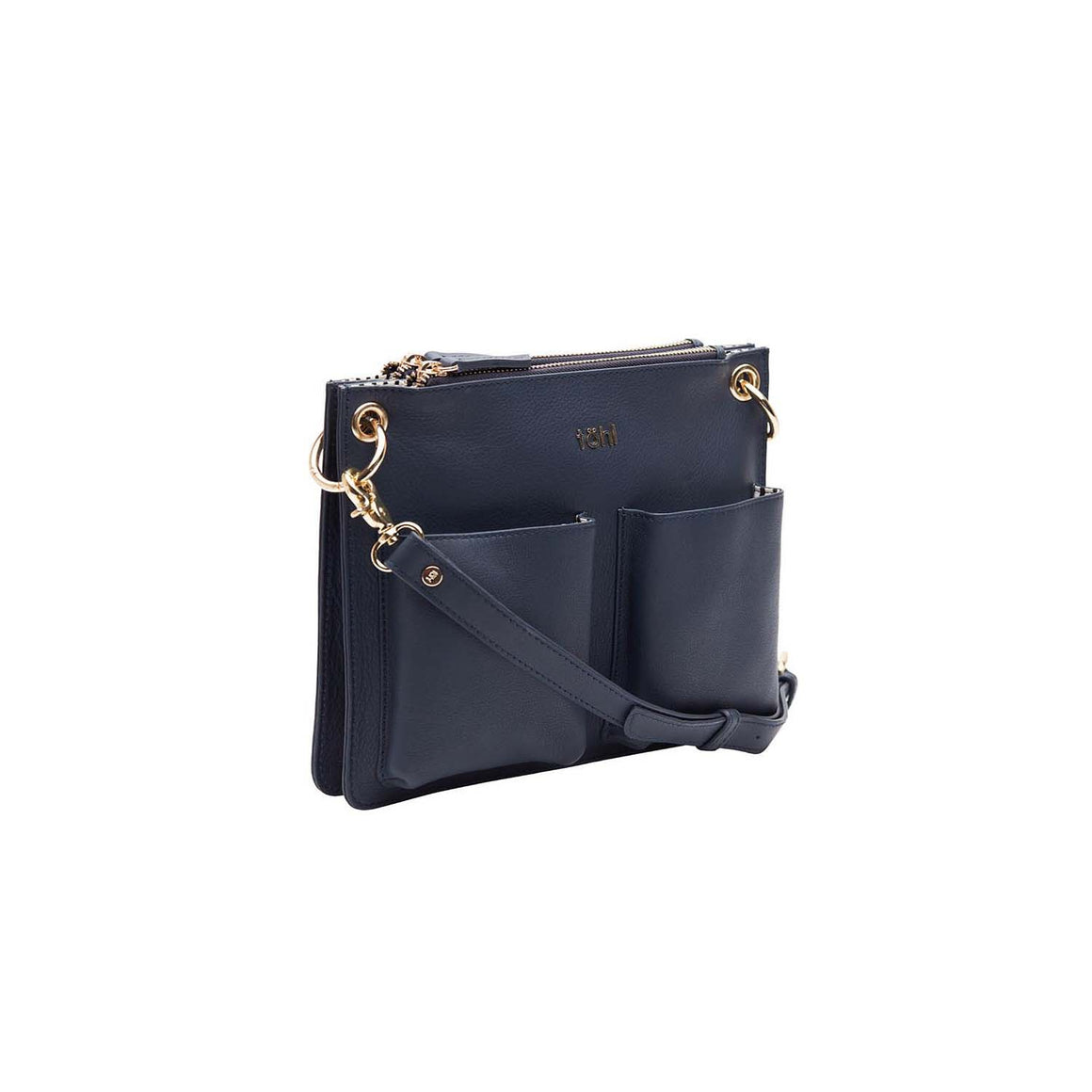 SG 0025 - TOHL LENZEIN WOMEN'S SLING & CROSSBODY BAG - INDIGO BLUE