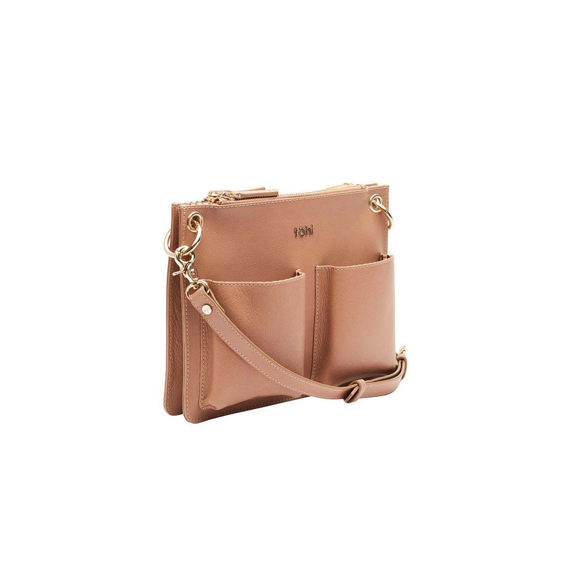 SG 0025 - TOHL LENZEIN WOMEN'S SLING & CROSSBODY BAG - NUDE