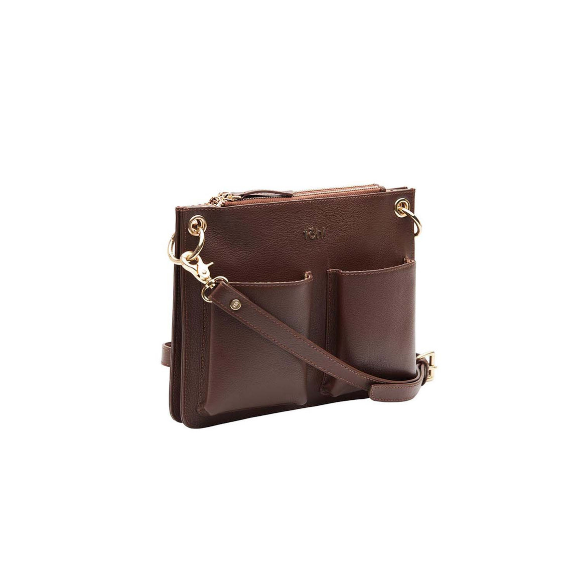 SG 0025 - TOHL LENZEIN WOMEN'S SLING & CROSSBODY BAG - CHOCO