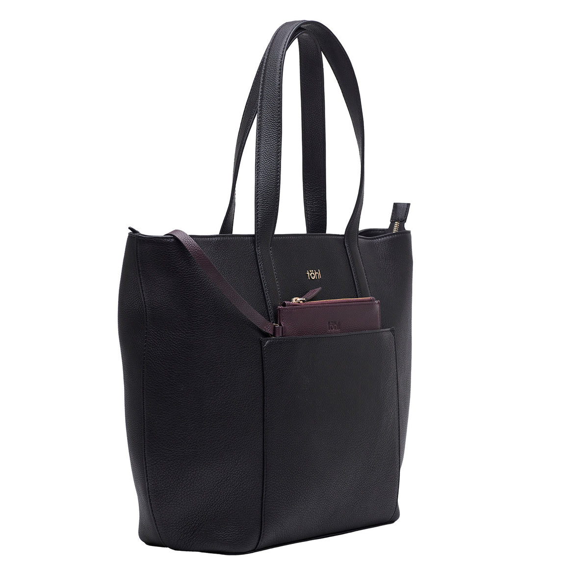 TT 0010 - TOHL LUSH WOMEN'S TOTE BAG - CHARCOAL BLACK