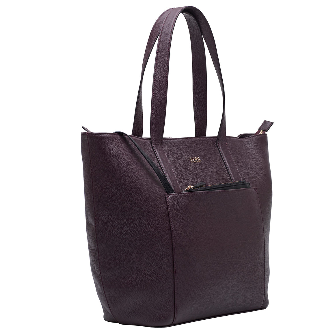 TT 0010 - TOHL LUSH WOMEN'S TOTE BAG - PLUM