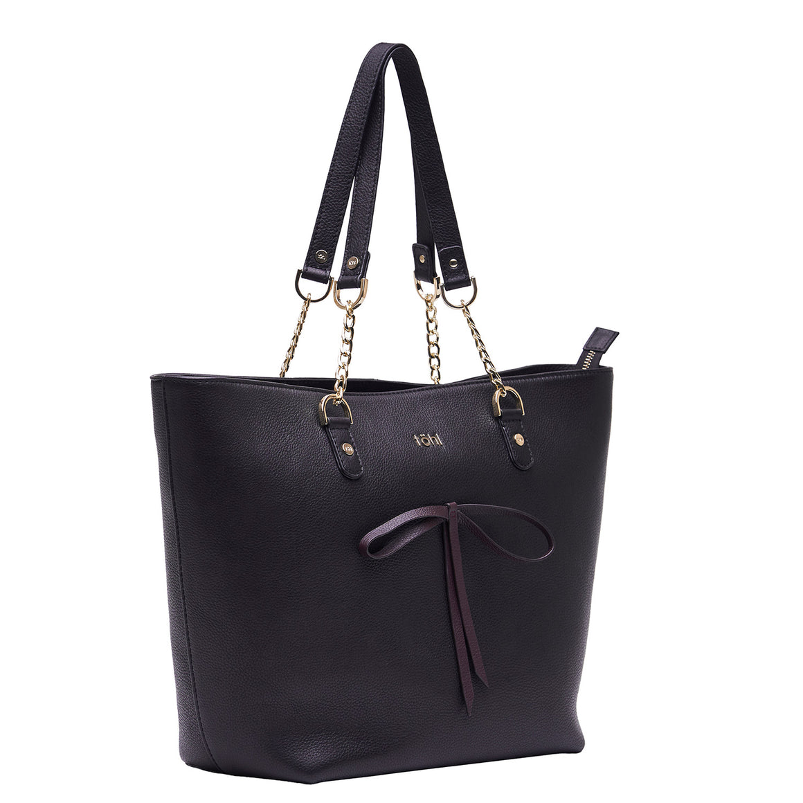 TT 0011 - TOHL WALLACE WOMEN'S TOTE BAG - BLACK