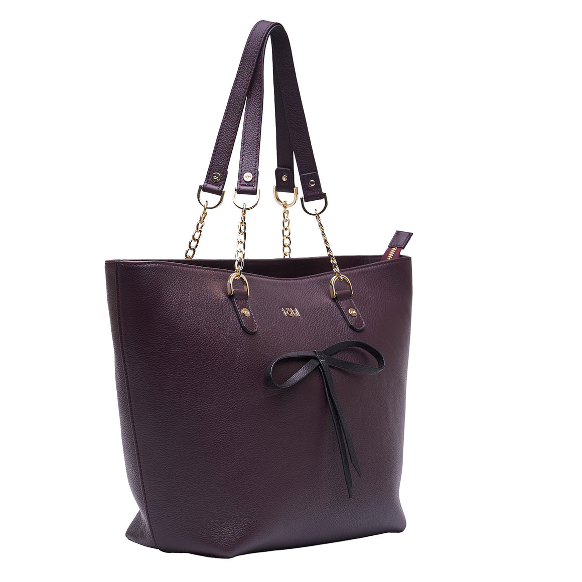 TT 0011 - TOHL WALLACE WOMEN'S TOTE BAG - PLUM