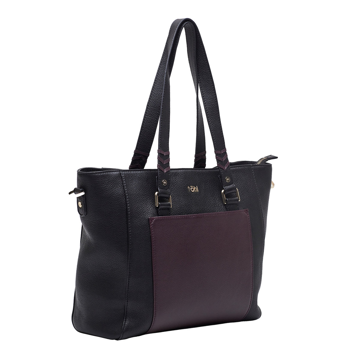 TT 0013 - TOHL MAUREEN WOMEN'S TOTE BAG - BLACK