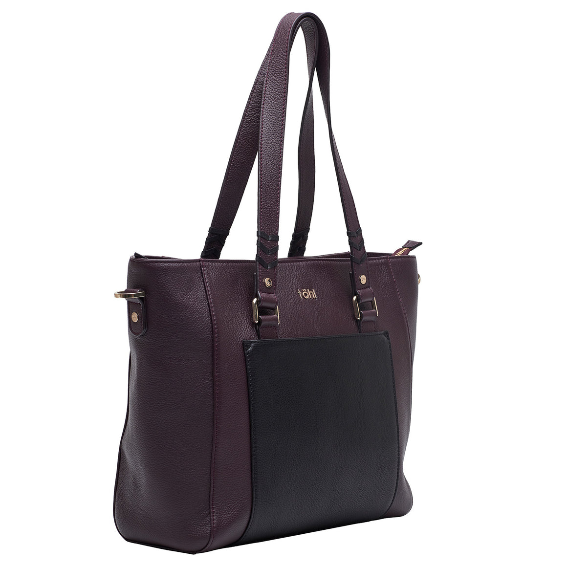 TT 0013 - TOHL MAUREEN WOMEN'S TOTE BAG - PLUM