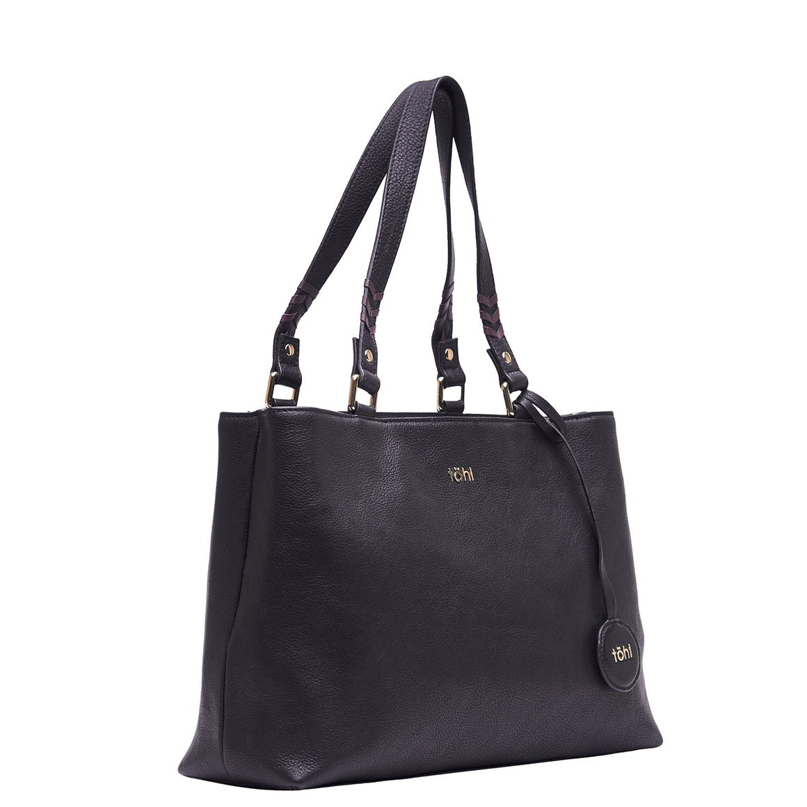 TT 0014 - TOHL FABLE WOMEN'S TOTE BAG - BLACK