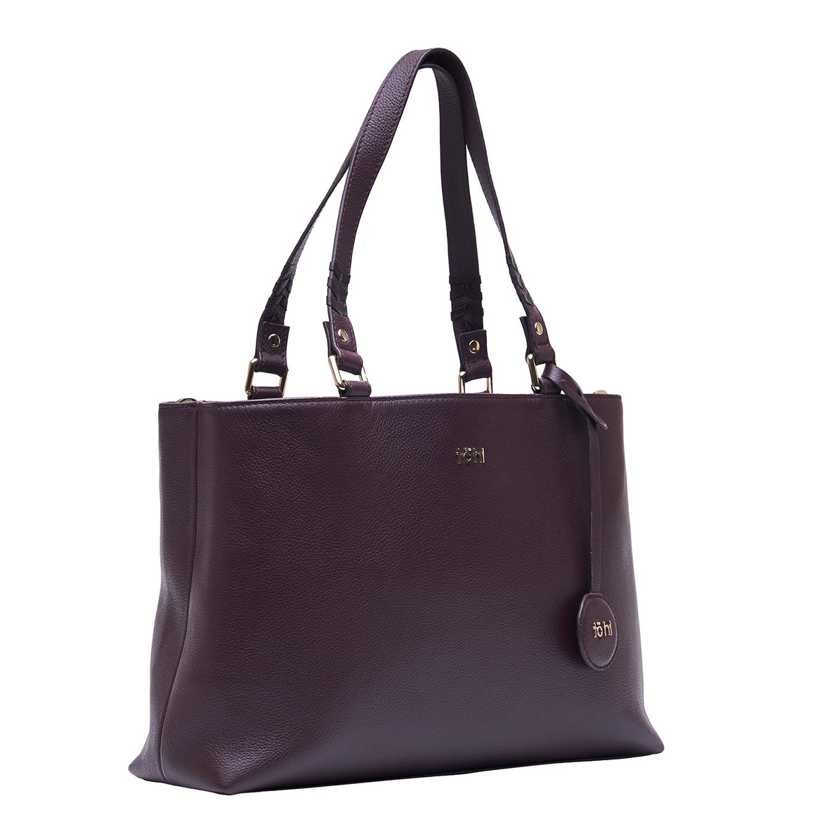 TT 0014 - TOHL FABLE WOMEN'S TOTE BAG - PLUM
