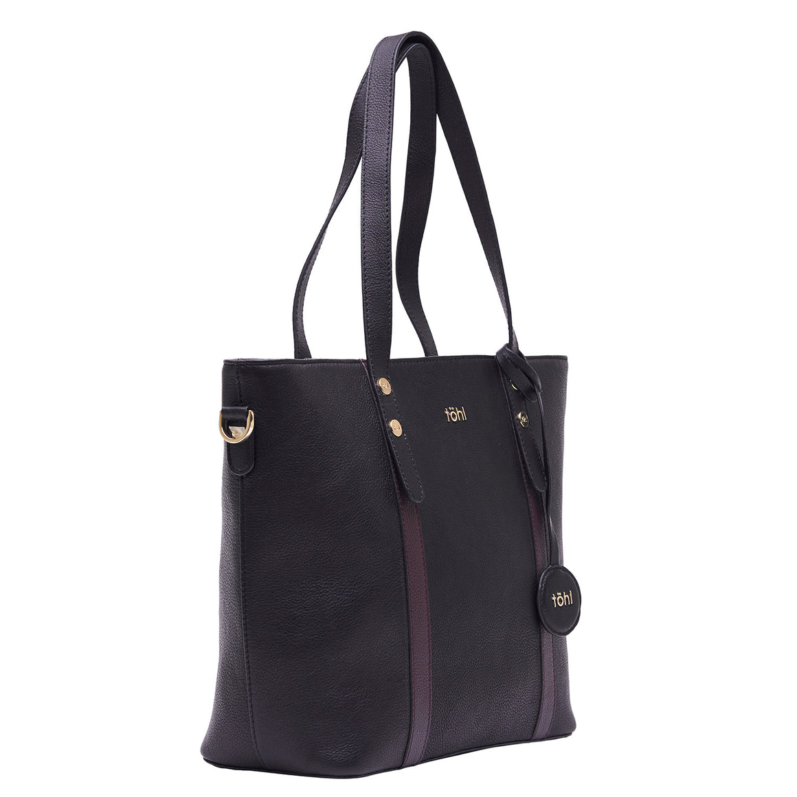 TT 0015 - TOHL DORRI WOMEN'S TOTE BAG - CHARCOAL BLACK