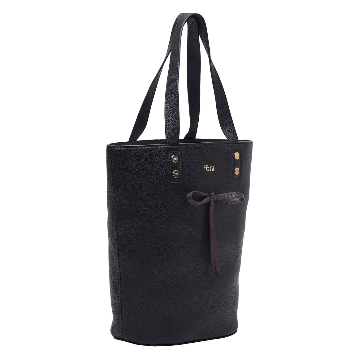TT 0016 - TOHL RUSSELL WOMEN'S TOTE BAG - CHARCOAL BLACK