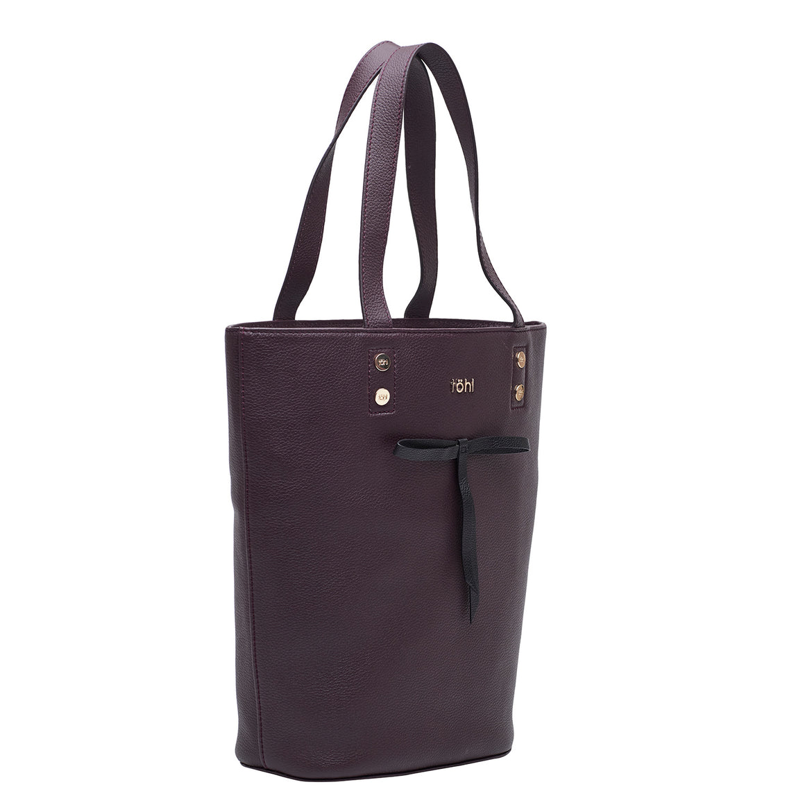TT 0016 - TOHL RUSSELL WOMEN'S TOTE BAG - PLUM