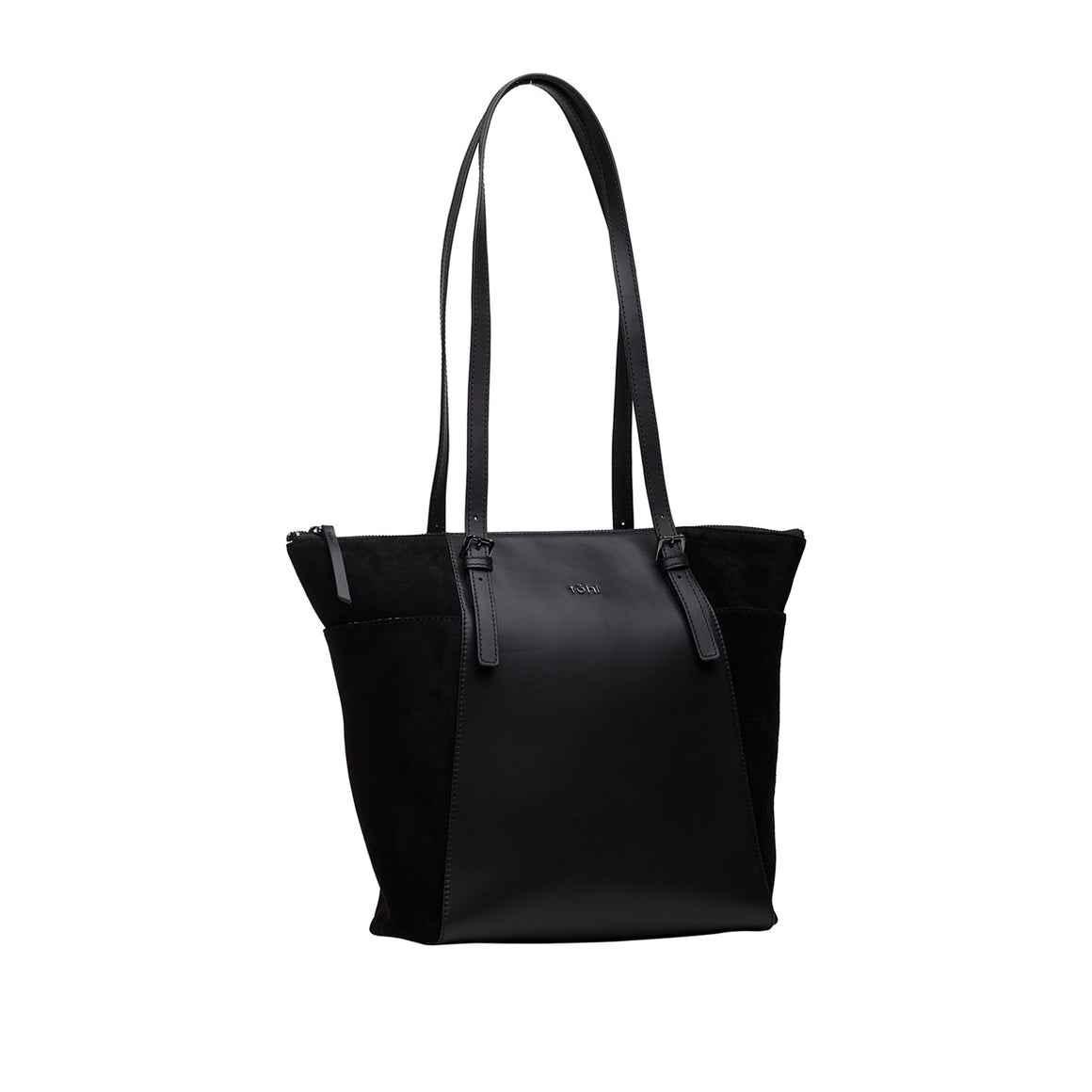 TT 0001 - TOHL MERCER WOMEN'S TOTE BAG - CHARCOAL BLACK