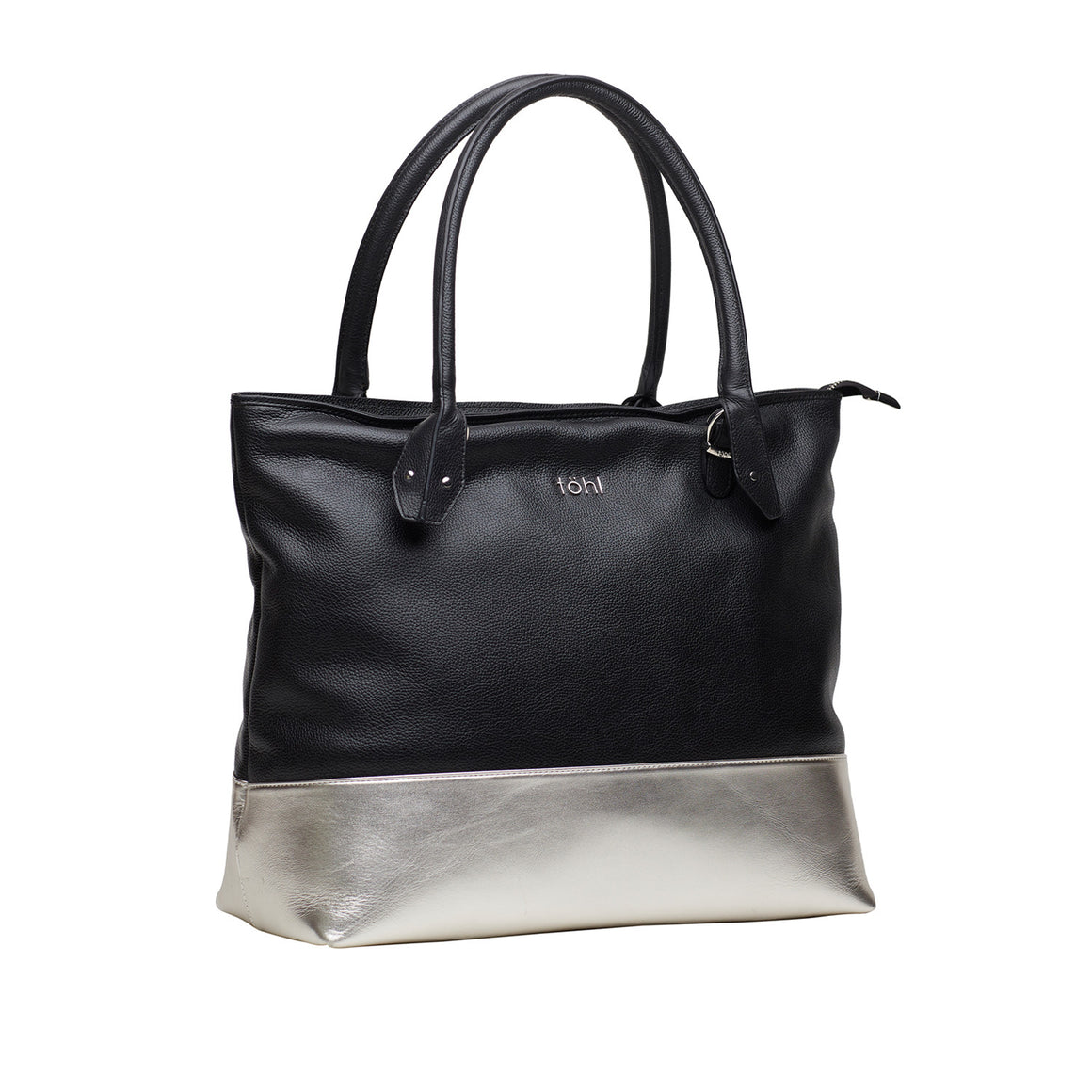 TT 0003 - TOHL CAYO WOMEN'S TOTE BAG - CHARCOAL BLACK