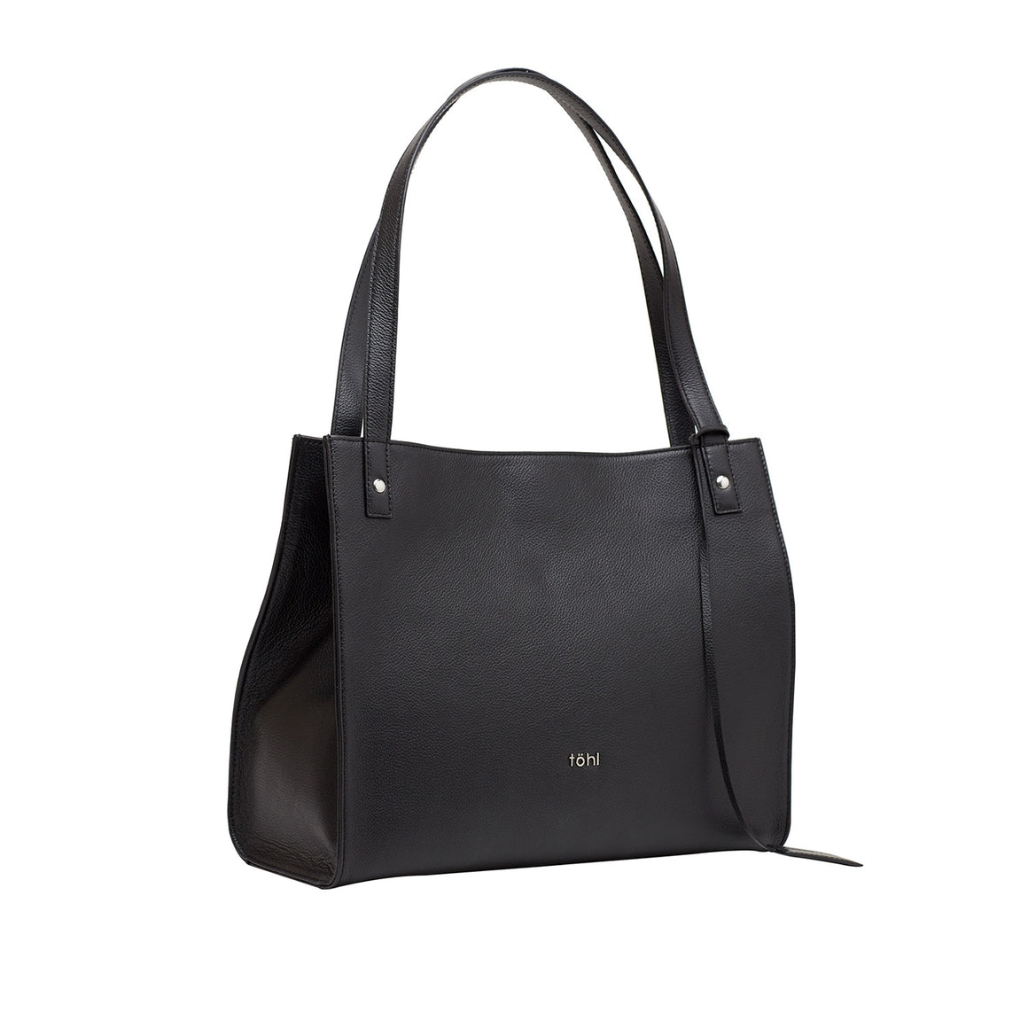 TT 0005 - TOHL STANTON WOMEN'S TOTE BAG - CHARCOAL BLACK