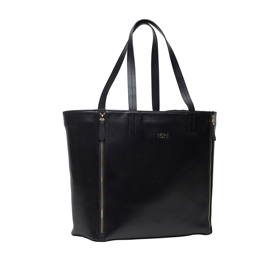 TT 0006 - TOHL RIVINGTON WOMEN'S TOTE BAG - CHARCOAL BLACK