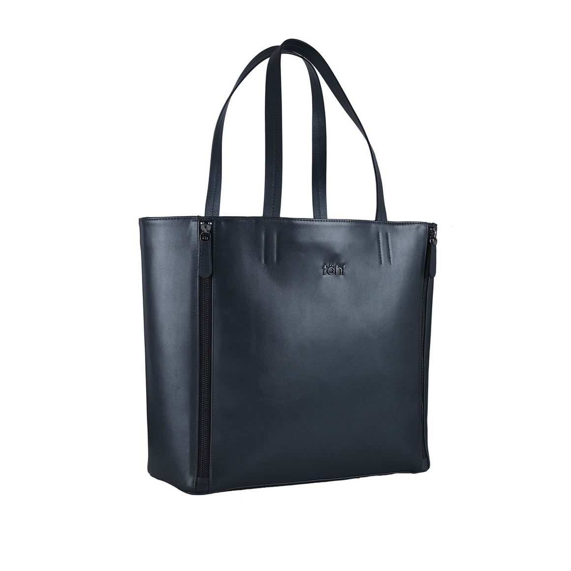 TT 0006 - TOHL RIVINGTON WOMEN'S TOTE BAG - METALLIC CARBON