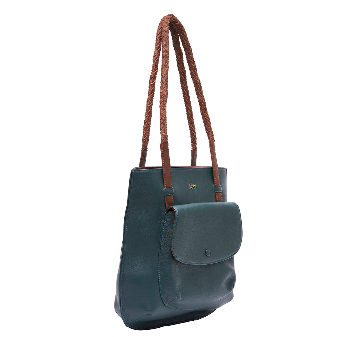 TT 0007 - TOHL GARRETT WOMEN'S TOTE BAG - FOREST GREEN
