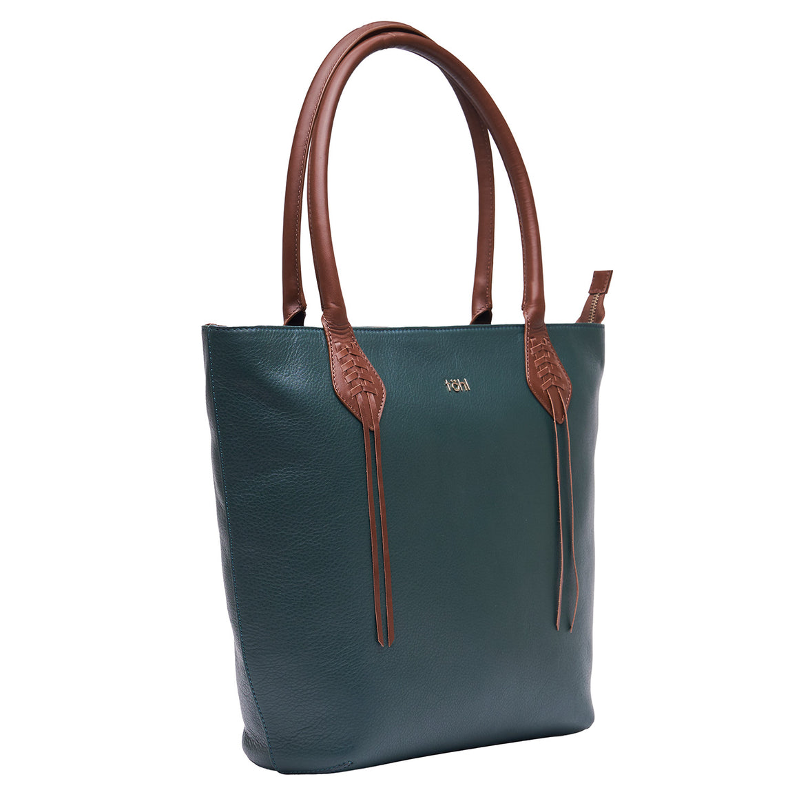 TT 0009 - TOHL KIFFEN WOMEN'S TOTE BAG - FOREST GREEN