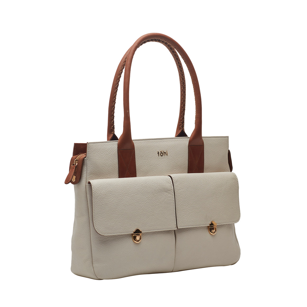 HH 0015 - TOHL GALWAY WOMEN'S VALISES & SATCHEL BAG - WHITE