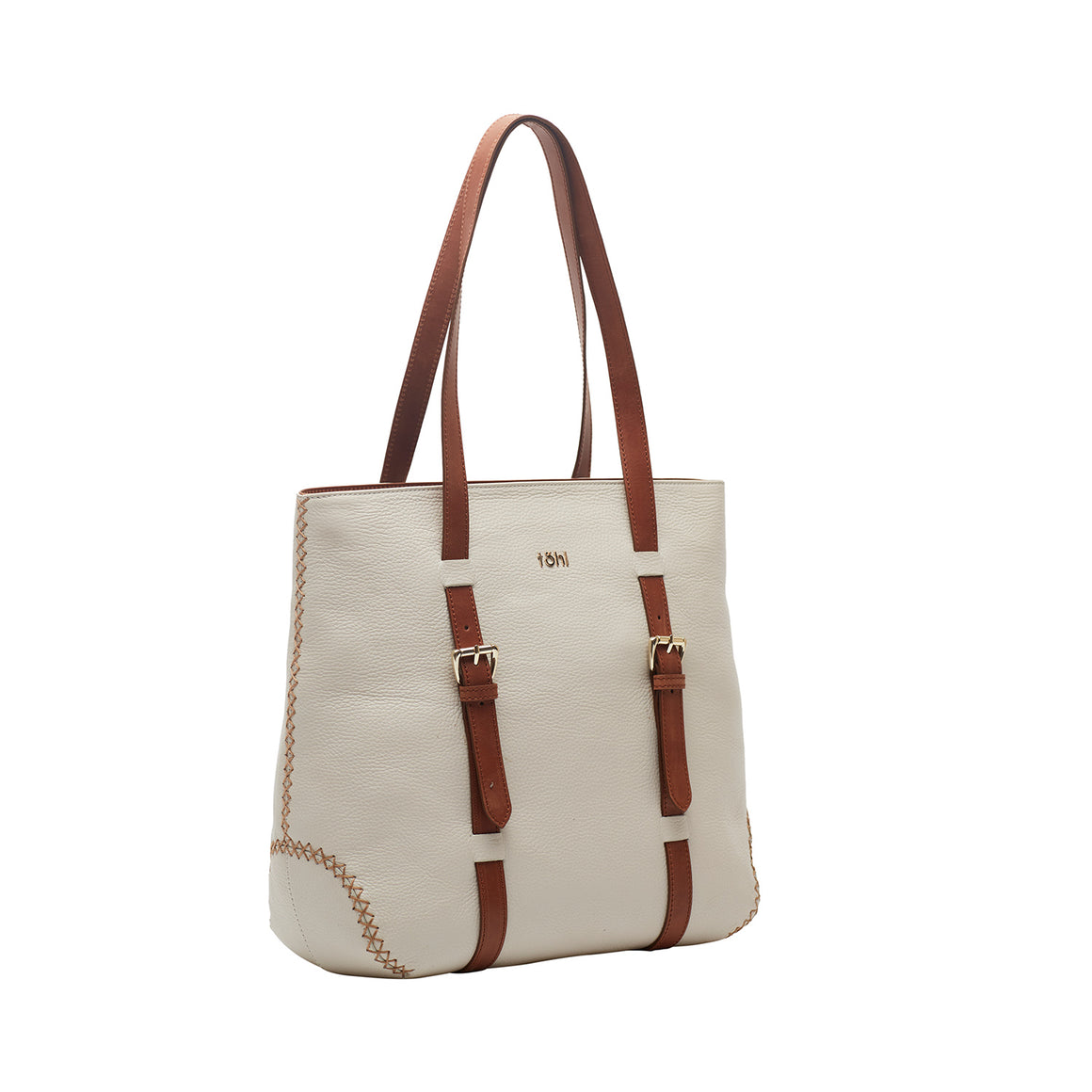 TT 0008 - TOHL RADNOR WOMEN'S TOTE & BUCKET BAG - WHITE