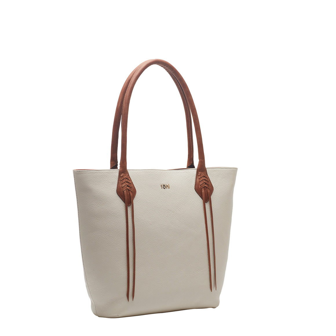 TT 0009 - TOHL KIFFEN WOMEN'S TOTES & BUCKET BAG - WHITE