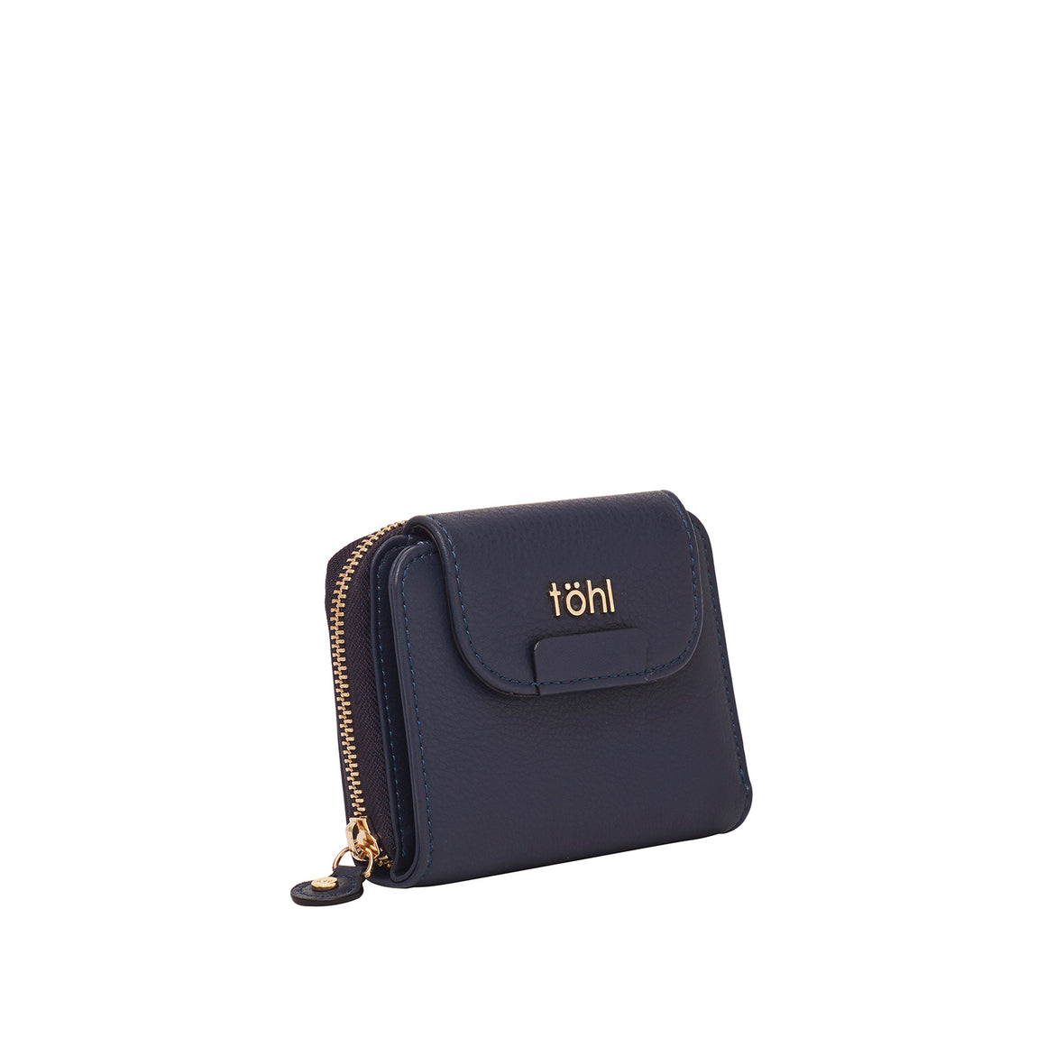 WT 0020 - TOHL FINSBURY MINI WOMEN'S WALLET - INDIGO BLUE