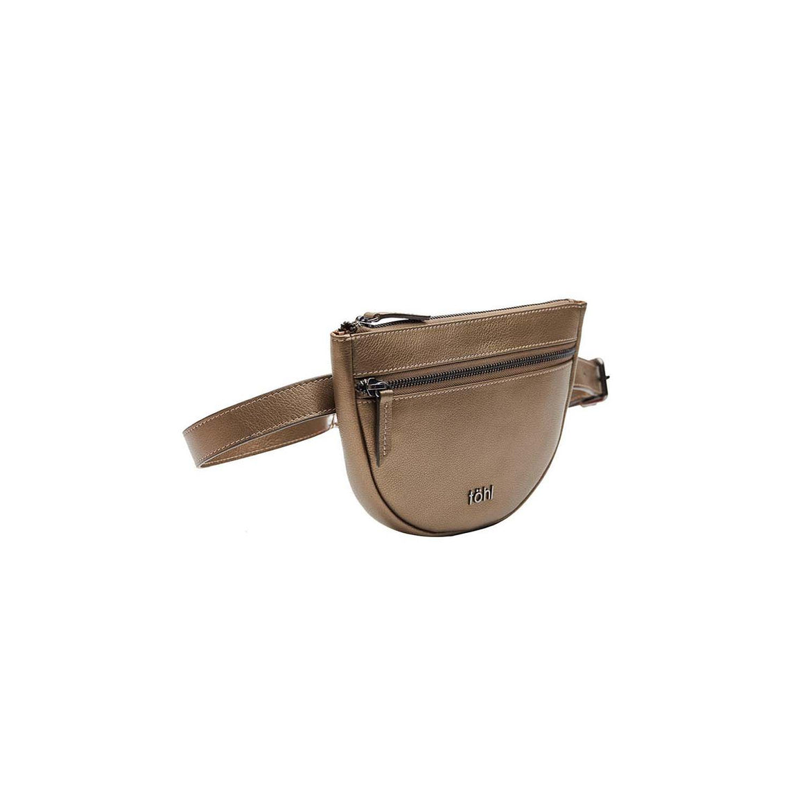 WP 0001 - TOHL RISELY WOMEN'S WAIST POUCH - METALLIC COPPER